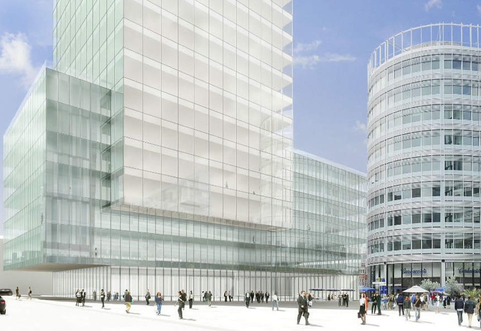 TES supplied LV Switchgear as part of the Manchester Spinningfields development