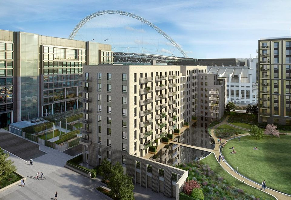 TES supplied LV Switchgear for the Wembly Quintain project in London