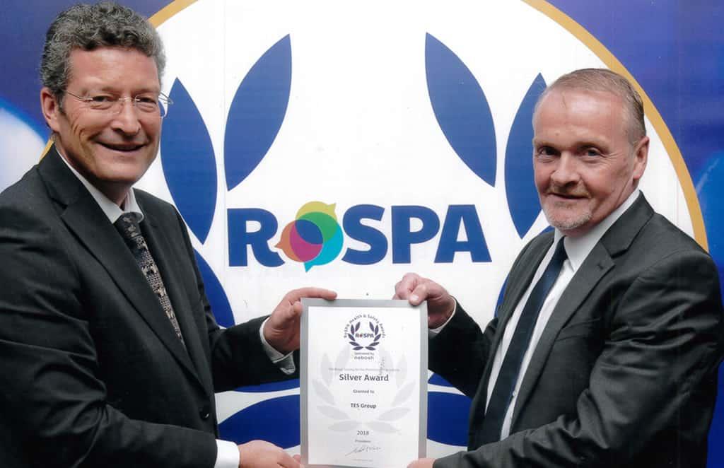 RoSPA Silver Award