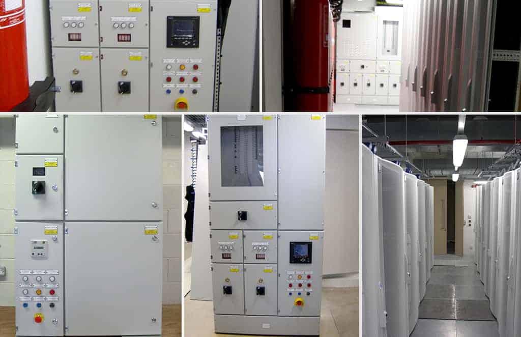 TES Commission Data Centre PDU's
