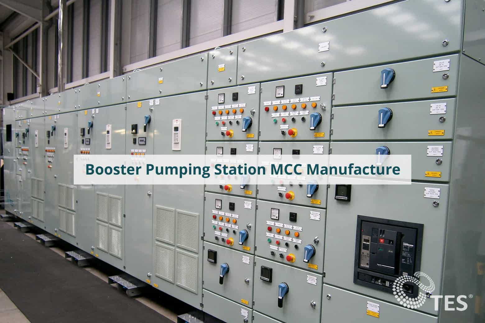 Booster Pumping Station MCC Manufacture