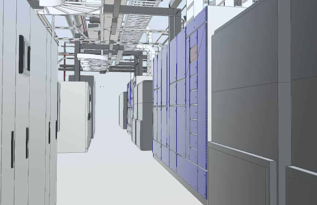 TES Using BIM 360 to Improve Data Centre Efficiency