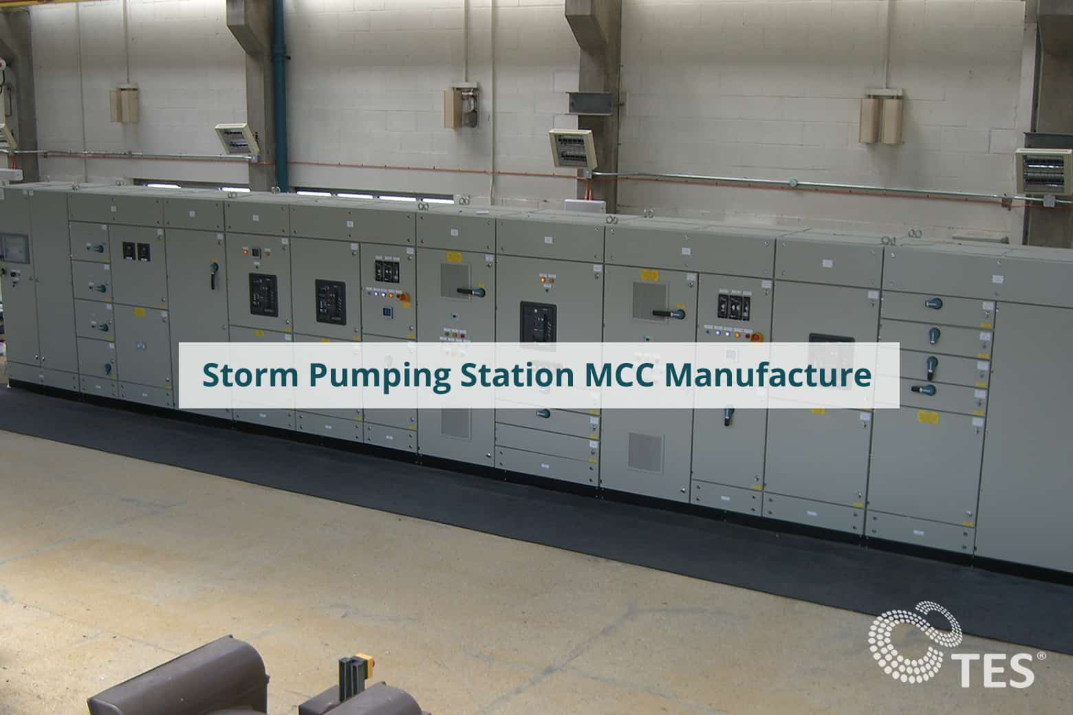 Storm Pumping Station MCC Manufacture