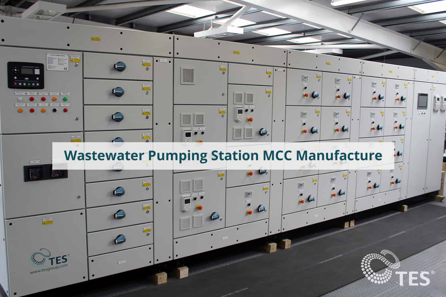 Wastewater Pumping Station MCC Manufacture